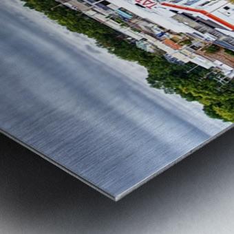 Lonoke, AR | Headed W on 70 Metal print