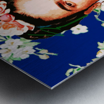 Frida X Metal print