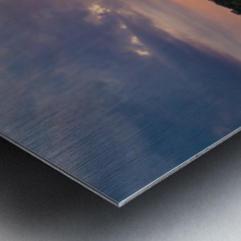 Grafton, IL Sunset Metal print