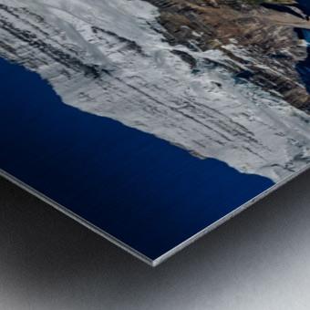 LakeLouiseCanoes Metal print
