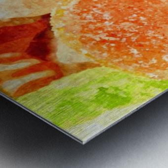 Marmalade Metal print