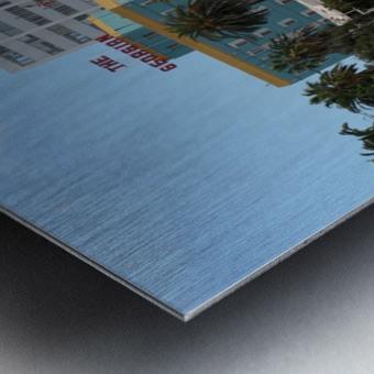 The Georgian at Santa Monic Beach Metal print