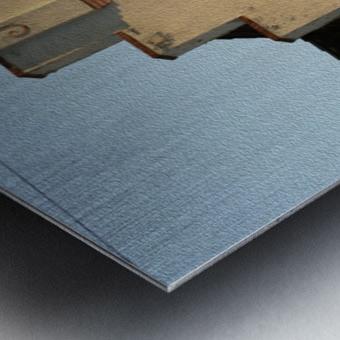 Van de Kamp's Building Metal print