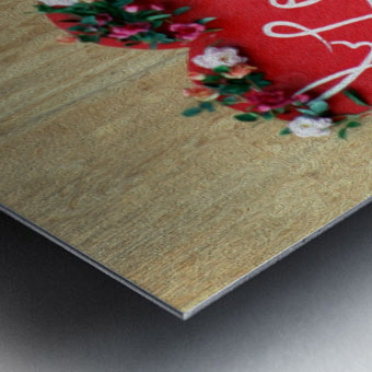 I love Heart - Square Canvas Print Metal print