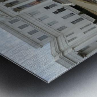 ALABAMA ARCHIVES BUILDING Metal print