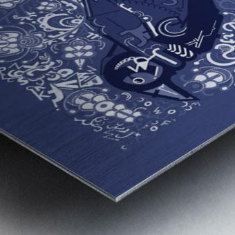 Type Is Mythic - Typography Art Print Metal print