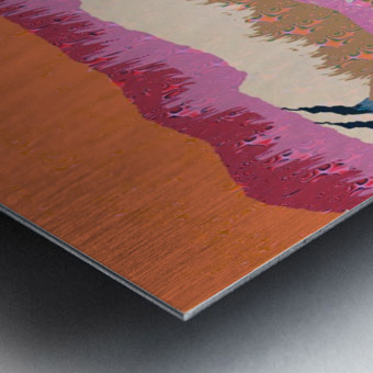 Landscape 748 Metal print