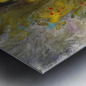 The Unknown Metal print