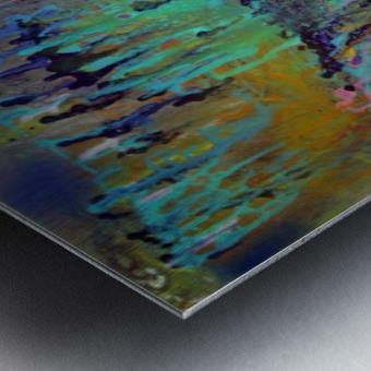 The Unseen World Metal print