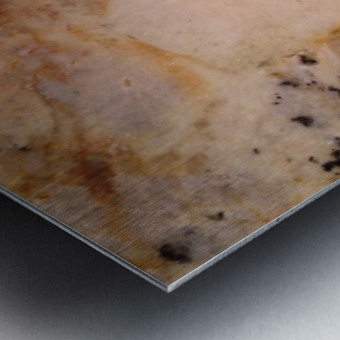 Marble from a Kitchen Countertop Metal print