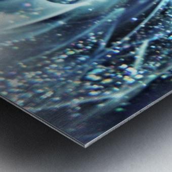 GalaxyInGlassC001 Metal print