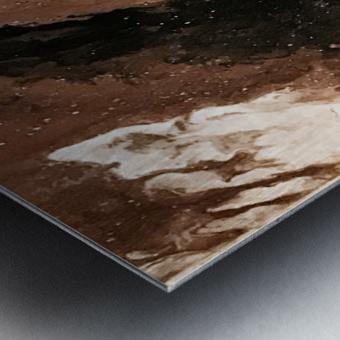 Sediment Metal print