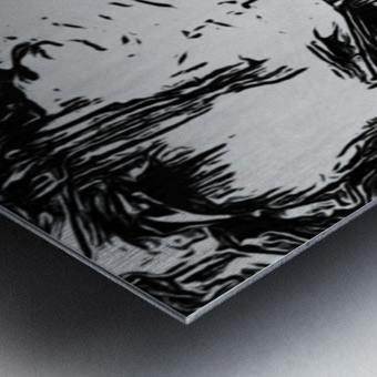 Consuming Metal print