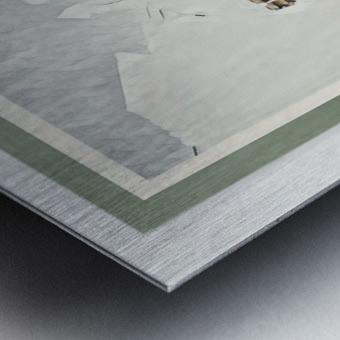 Roadrunner ng Bustillos Metal print