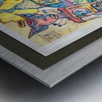 Salience Metal print