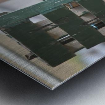 Pallet Metal print