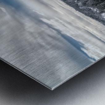 A Boreal Winter Metal print