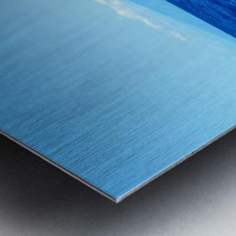 Bigger Blue Metal print