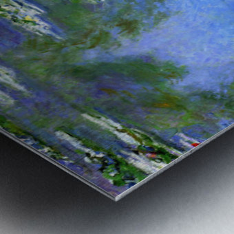 Water Lilies Impression metal