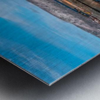 Cheticamp Skies Metal print