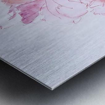 Flowers of Happiness Metal print
