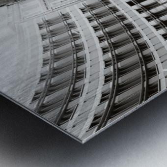 Cabs Metal print