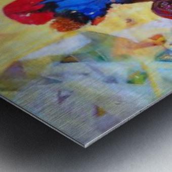 love 2 Metal print