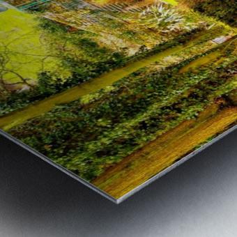 Reflective canal corner Metal print