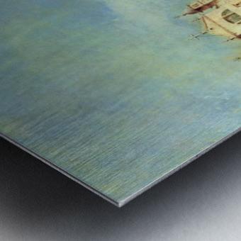 Vedute des Canale Grande zwischen Santa Lucia und der Scalzi Metal print