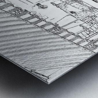 Booches Metal print