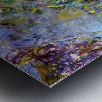 Wisteria -2- by Monet Metal print