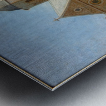 Dunkerque musee BA lesidaner etaple eglise Metal print