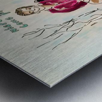 Britton Buchanan - The Voice Metal print