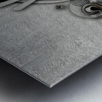 Supposed Emotion Metal print