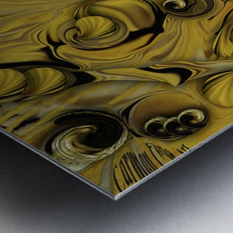 Theme From Indestructible Metamorphosis Metal print