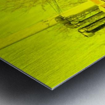 A (14) Metal print