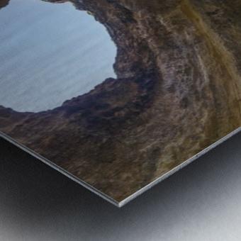 Benagil cave Metal print