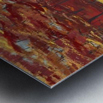 Dreams of Autumn Metal print