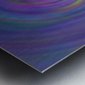 swirl color Metal print