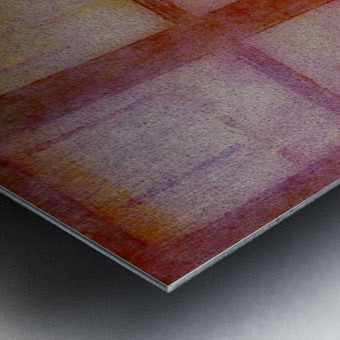 FADED VIEWS Metal print