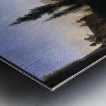 The Return from Hawking Metal print
