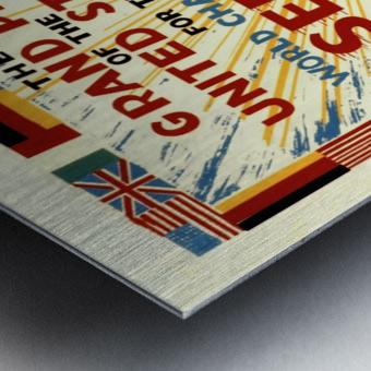 Sebring Us Grand Prix World Championship 1959 Metal print