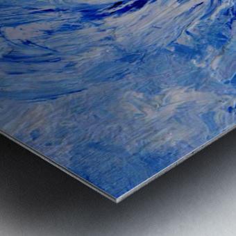 Abstract Storm Metal print