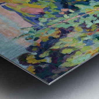 The Valley of Sedelle Metal print