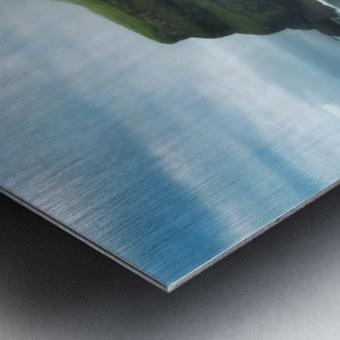 Múlafossur Waterfall Metal print