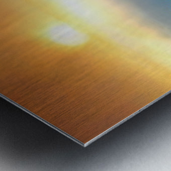 Sunrise at Niagara Falls Metal print