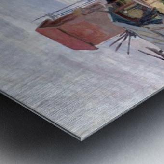 The Seine at Petit-Gennevilliers Metal print