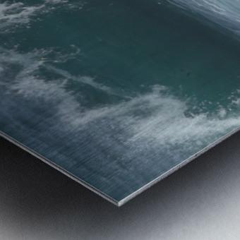 Breaking Wave Metal print
