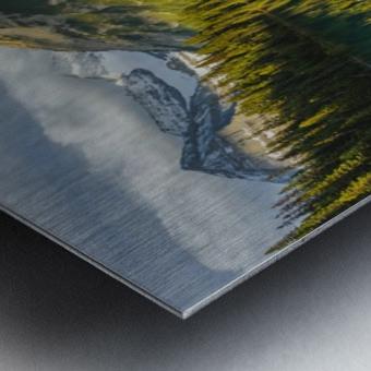 Upper elk lake  Metal print