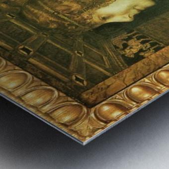 Florentine by Franz von Stuck Metal print